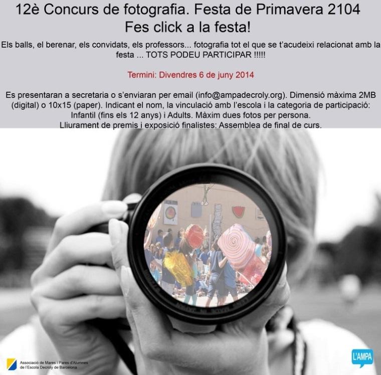 Concurs de fotografia